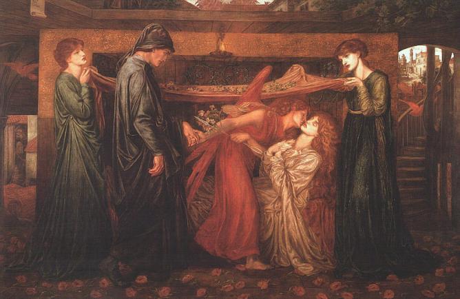 Dante's Dream   © The Walker Art Gallery/Courtesy fo WikiCommons
