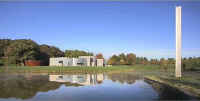 View of Glenstone Museum