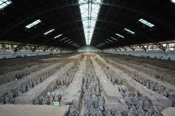 The Museum of Qin Terracotta Warriors and Horses | © WikiCommons/chensiyuan