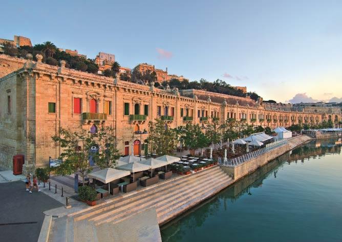 Valletta Waterfront © Clive Vella