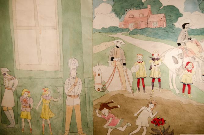 Drawing by Henry Darger at Stephen Romano