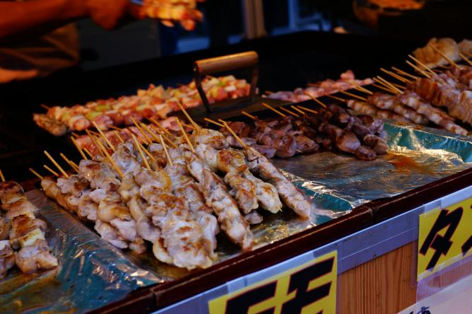 Some Skewers Incorporate Other Ingredients Besides Chicken Such As Tsukune Which Consists Of Made With Minced Chicken Egg Vegetables And Es