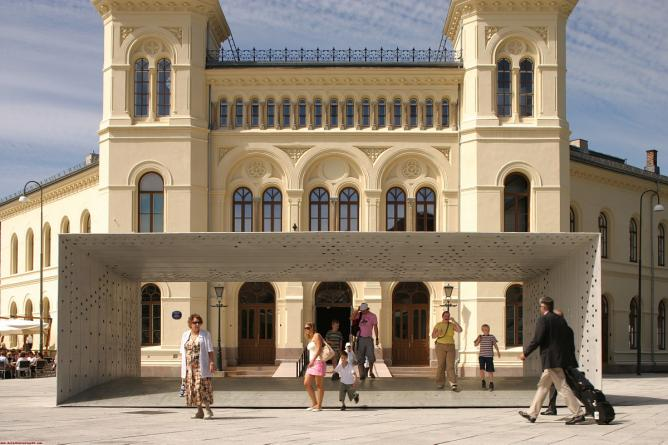 David Adjaye Nobel Peace Center, Oslo