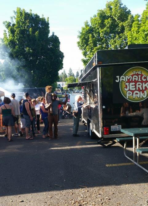 The Jamaican Jerk Pan truck   Courtesy of The Jamaican Jerk Pan
