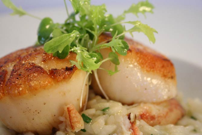 Seasonal dish | Courtesy of Ariana Restaurant