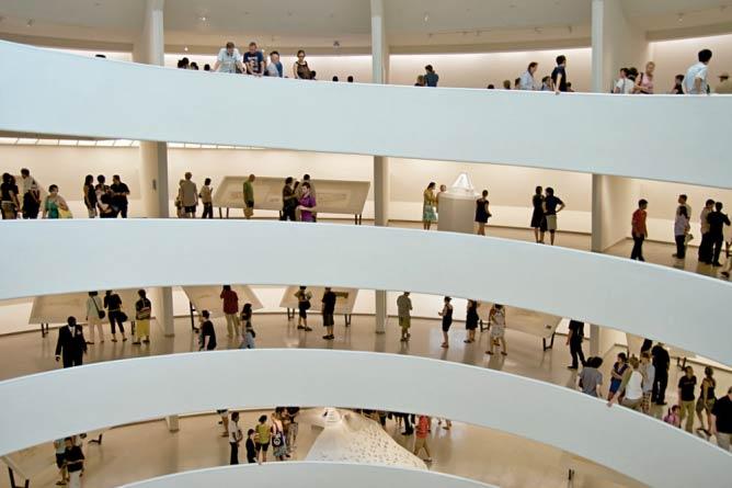 Guggenheim interior | © Wallygva/WikimediaCommons