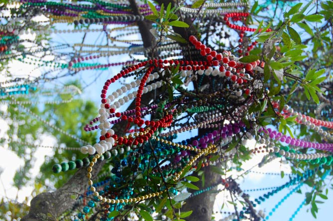 Mardi Gras Beads and Doubloons