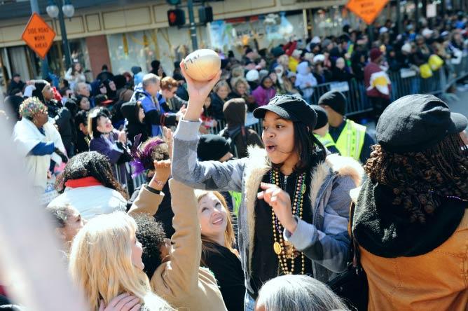 """Mardi Gras Signature """"Throws"""""""