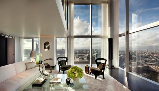 View from the South Penthouse across London | Courtesy The Heron