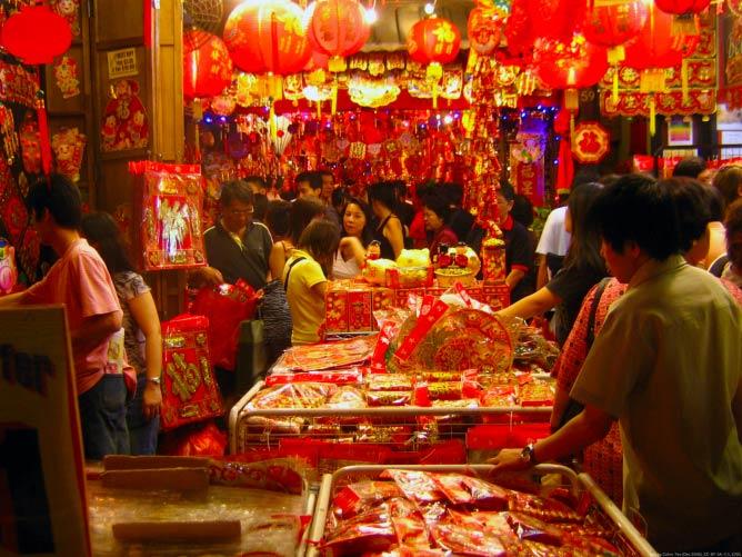 Chinese New Year Market | © Calvin Teo/WikiCommons