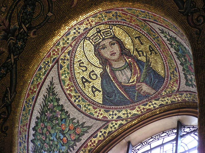Westminster Cathedral mosaic | ©Arpingstone/Wikicommons
