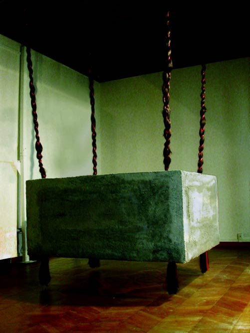 Mandana Moghaddan, Chelgis II, 2005, installation view at Venice Biennale 2005 | Courtesy of Mandana Moghaddan