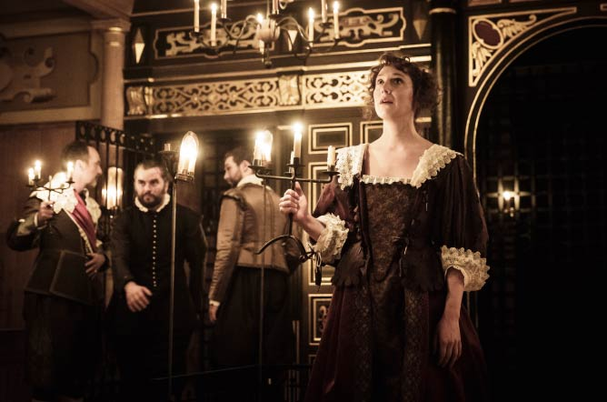 The Changeling at the Sam Wanamaker Playhouse © Marc Brenner