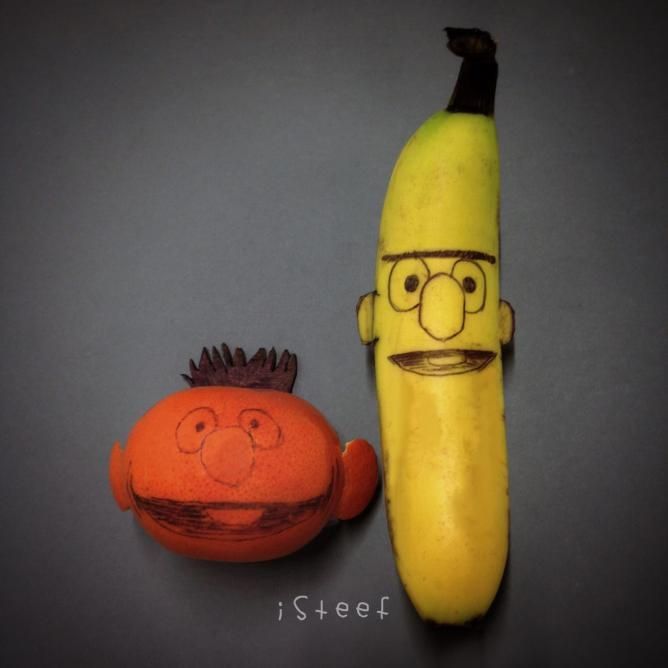 Bert and Ernie   © Stephan Brusche
