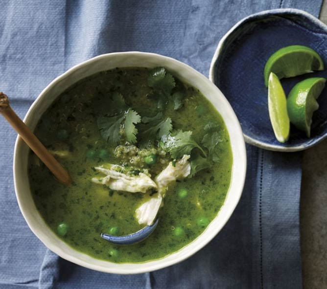 Peruvian Chicken and Coriander Soup | Courtesy Eatori