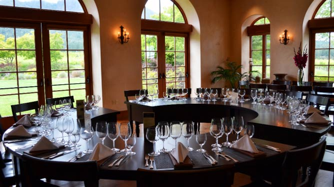The dining room   © St Francis Winery & Vineyard