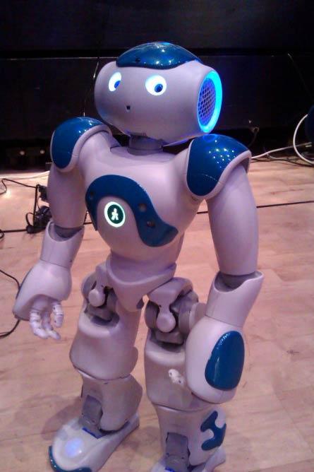 Nao - Social Humanoid Robot © Aldebaran Robotics/Flickr