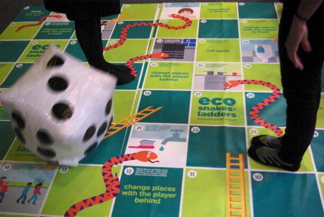 Eco Snakes and Ladders © The Science Museum