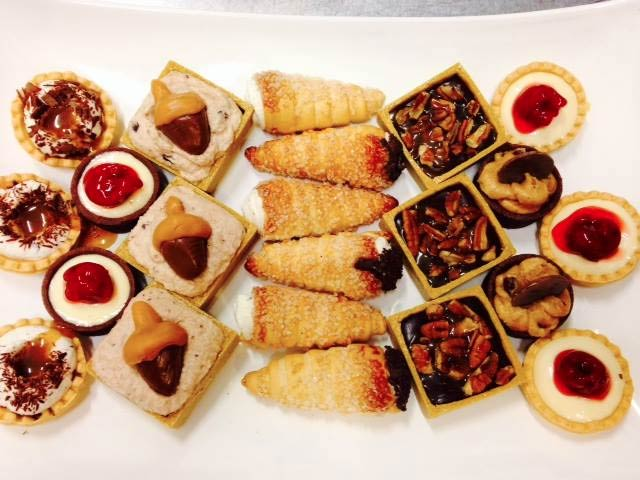 A selection of mini desserts from Wildflour Artisanal Bakery and Cafe | Courtesy of Wildflour Artisan Bakery and Cafe