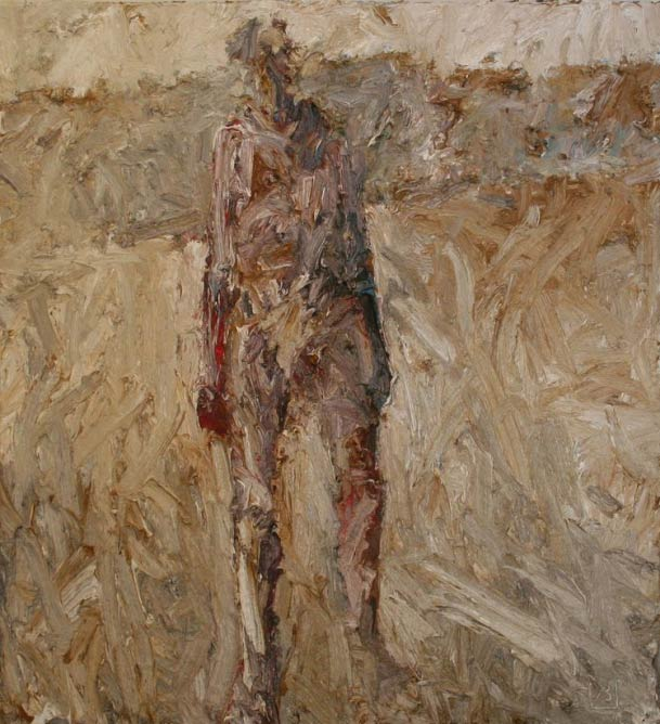 Figure in Landscape   © John Badcock/Courtesy of Pierre Peeters Gallery