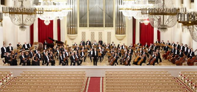St Petersburg Symphony Orchestra Corps © St Petersburg Symphony Orchestra