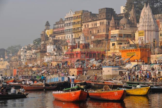 The Ganges River © Hong Mei