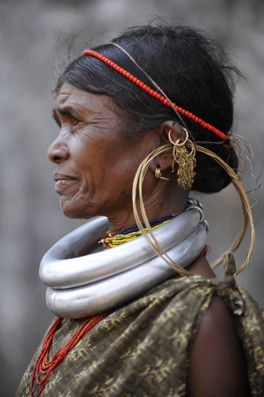 Gadaba tribal woman in Orissa