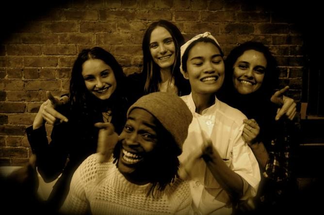 The Ladies of Cache Cache (with Sous Chef Coyd) | © Jesse Kornbluth