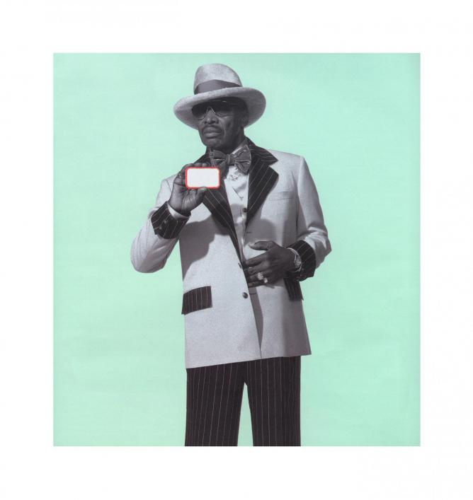 Petey Wheatstraw: The Devil's Son In-Law 2006/2000 © Hank Willis Thomas & and Jack Shainman Gallery, New York.