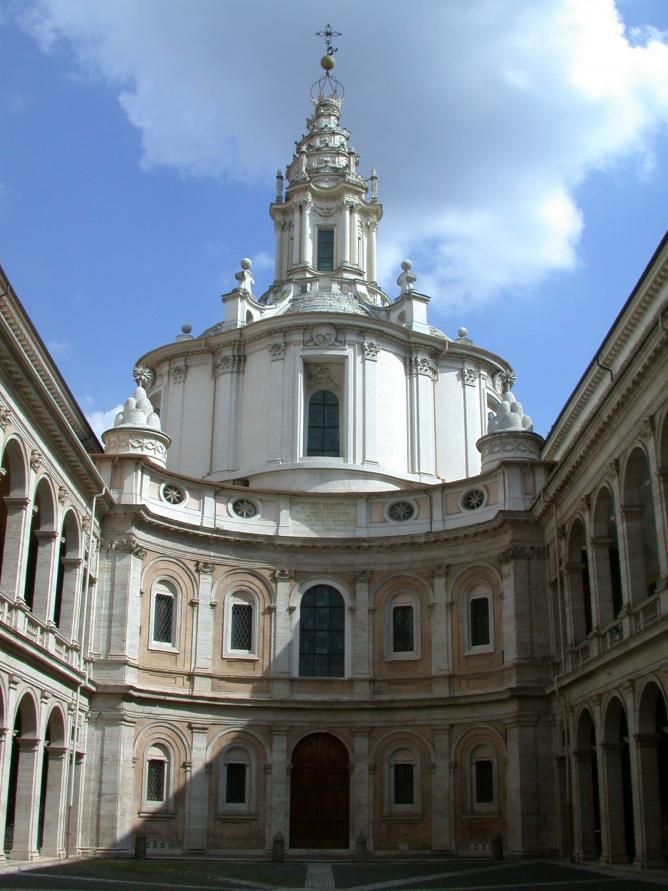 ant'Ivo alla Sapienza © Fb78/Wikipedia