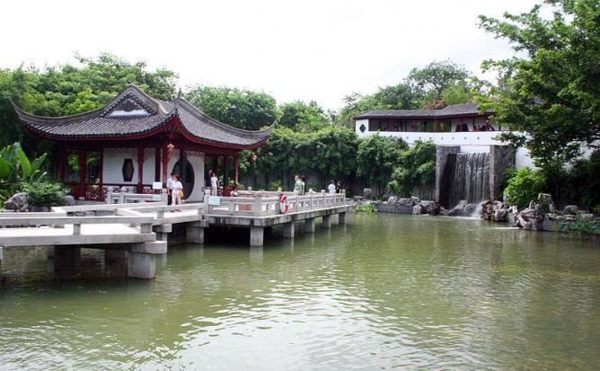 Kowloon Walled City Park | © CP Joseph/Wikimedia Commons