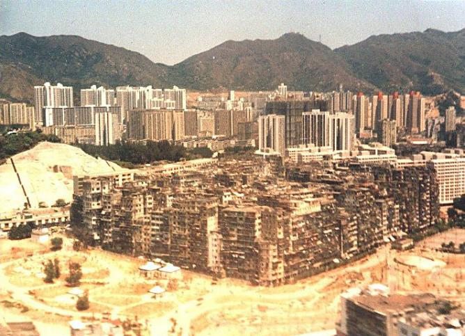 Kowloon Walled City | © Jidanni/Wikimedia Commons