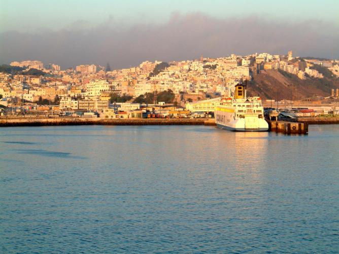 View of the old medina of Tangier © Hedwig Storch/Wikipedia