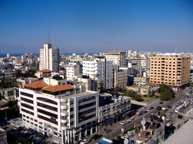 Gaza City skyline © OneArmedMan/Wikpedia