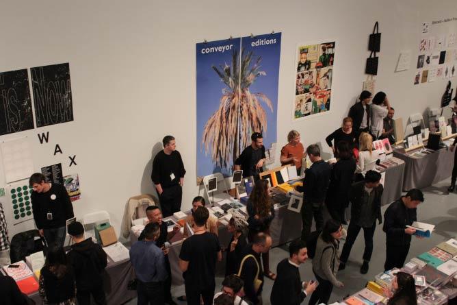 L.A. Art Book Fair. © Photo by Evan Moffitt