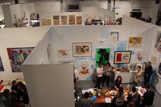 L.A. Art Book Fair. Image by Evan Moffitt