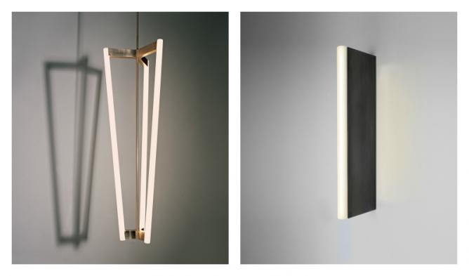 Tube Chandelier & TWL | Image courtesy of Michael Anastassiades