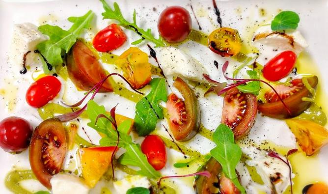 Tomato Salad | Image Courtesy of Lemon Grass