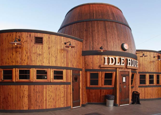 Newly Restored Idle Hour Cafe in North Hollywood