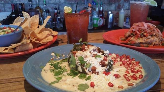 Barrio Café dishes   Courtesy Barrio Café