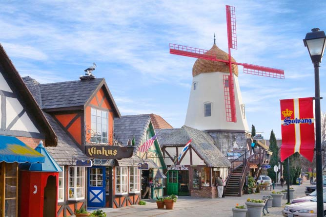 One of four windmills in Solvang | Courtesy of SolvangUSA.com