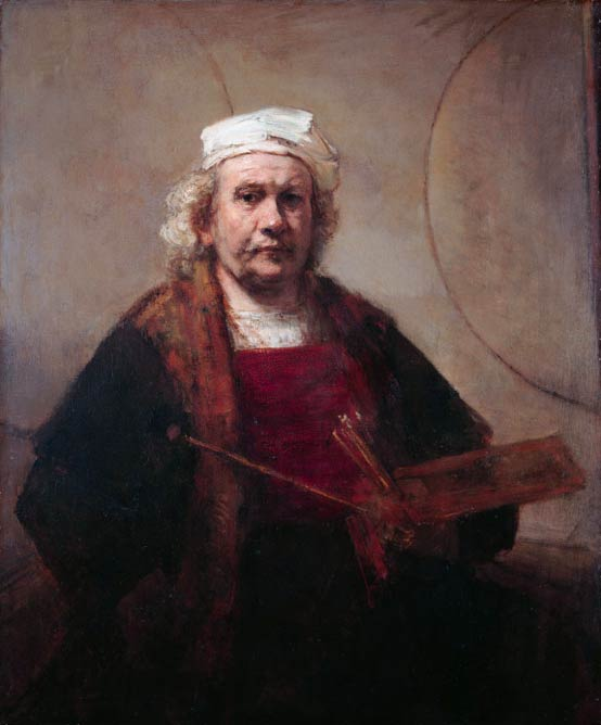Rembrandt van Rijn, 'Self Portrait with Two Circles' | © Wmpearl/Wikicommons