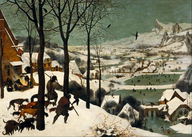Peter Brueghel the Elder, 'Hunter in the Snow (Winter)' | © DcoetzeeBot/Wikicommons
