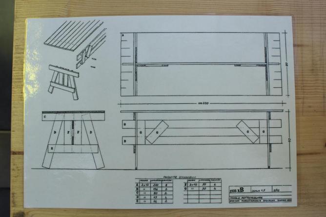 Blueprint for an autoprogettazione | © Enzo Mari