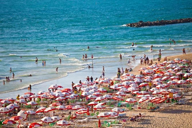 Tel Aviv's Mediterranean Beaches
