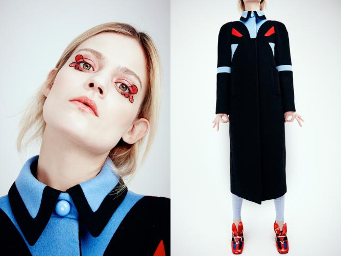 © Minju Kim   Photo: Kris de Smedt   Hair & Make-Up: Sigrid Volders   Model: Rijntje van Wijk