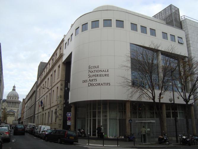 École Nationale Supérieure des Arts Décoratifs © LPLT/Wikipedia