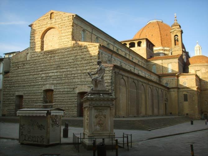 http://en.wikipedia.org/wiki/Basilica_of_San_Lorenzo,_Florence