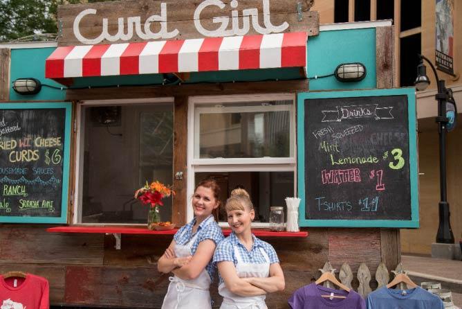 The 'curd girls' of Curd Girl food cart | Courtesy Curd Girl