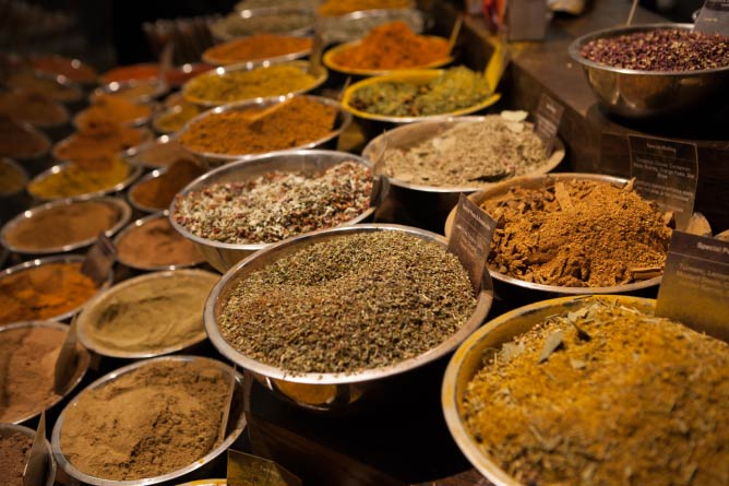 Spices at Spices & Tease | Image Courtesy of Jess Dwyer
